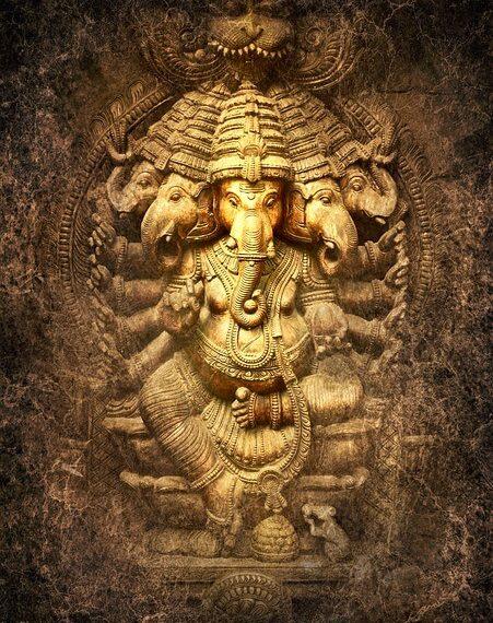 Ganesha, divinidad y respiración